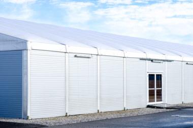 4 Leichtbauhallen-Systeme – 1000 Möglichkeiten